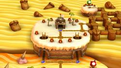 Layer Cake Desert  Star Coins Luigi