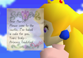 Peach's message.png