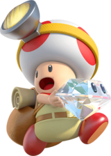 Image result for captain toad scared