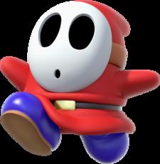 Shy Guy Super Mario Wiki The Mario Encyclopedia