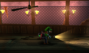 Hiders playing a finding game with Luigi.