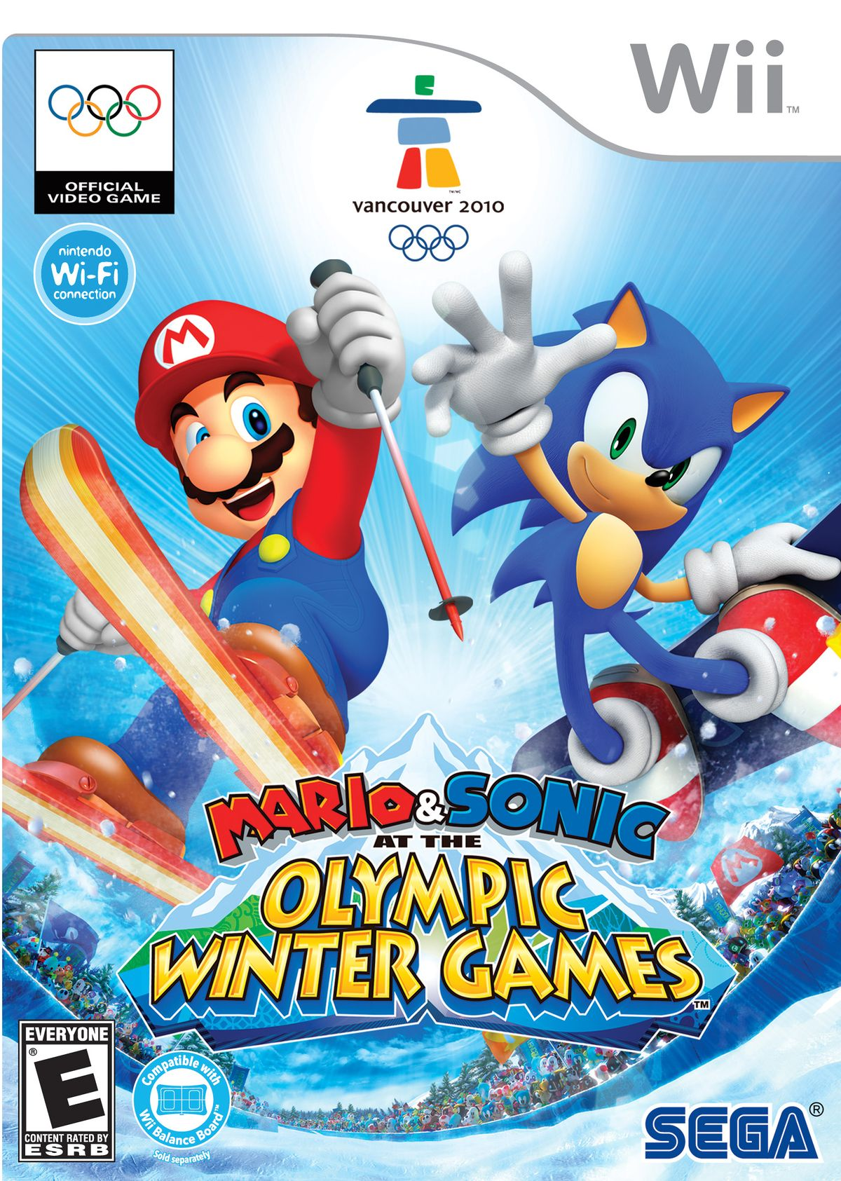 2bfef44be Mario   Sonic at the Olympic Winter Games (Wii) - Super Mario Wiki ...
