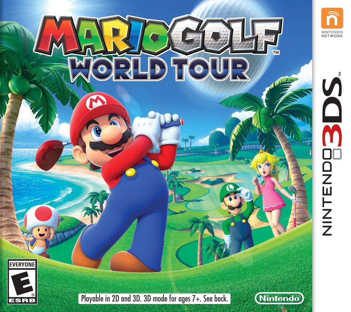 Mario Golf: World Tour - Super Mario Wiki, the Mario encyclopedia