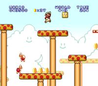 Mushroom Platform Super Mario Wiki The Mario Encyclopedia