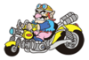 Sticker Wario and Bike.png