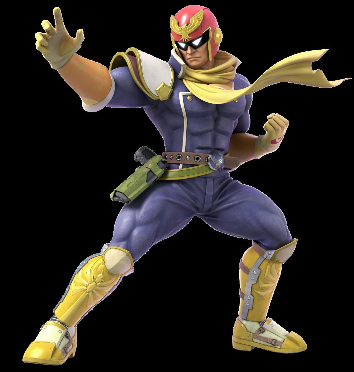 Captain Falcon - Super Mario Wiki, the Mario encyclopedia