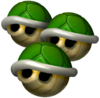 MKDD Triple Green Shells.png
