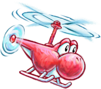 helicopter yoshi super mario wiki the mario encyclopedia