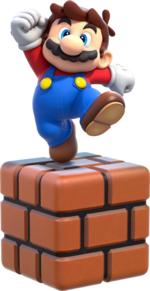 Small Mario Artwork - Super Mario 3D World.png