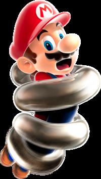 Spring Mario Super Mario Wiki The Mario Encyclopedia