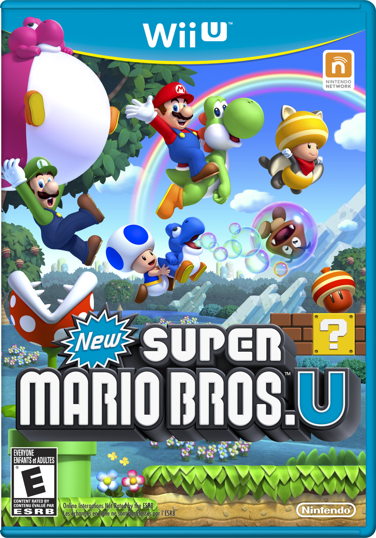New Super Mario Bros  U - Super Mario Wiki, the Mario
