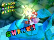 super mario sunshine how to get shine sprite