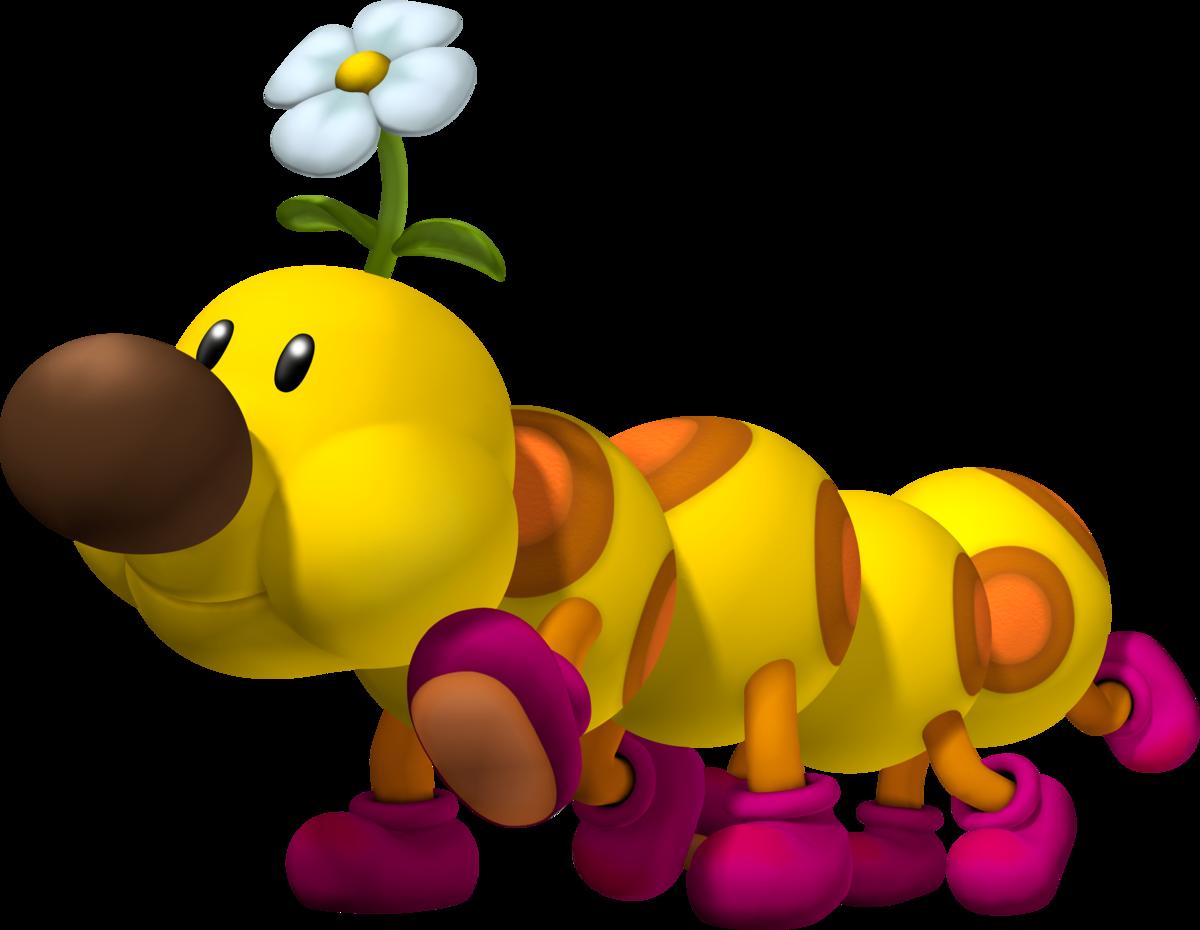 Wiggler - Super Mario Wiki, the Mario encyclopedia