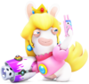 Rabbid Peach - RabbidsKingdomBattle.png