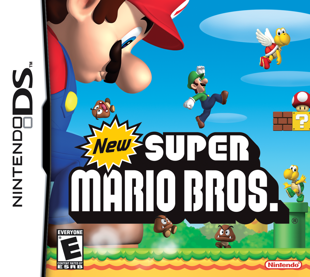New Super Mario Bros Super Mario Wiki The Mario Encyclopedia