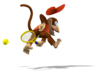 Diddy Kong Artwork - Mario Power Tennis.png