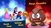 "Main text font comparison between Mario Party 10 (top), Mario Party: The Top 100 (middle; ""100 Minigames"" and ""Revers-a-Bomb"") and Super Mario Party (bottom; ""Online Mariothon"" and ""Worldwide Match"")"