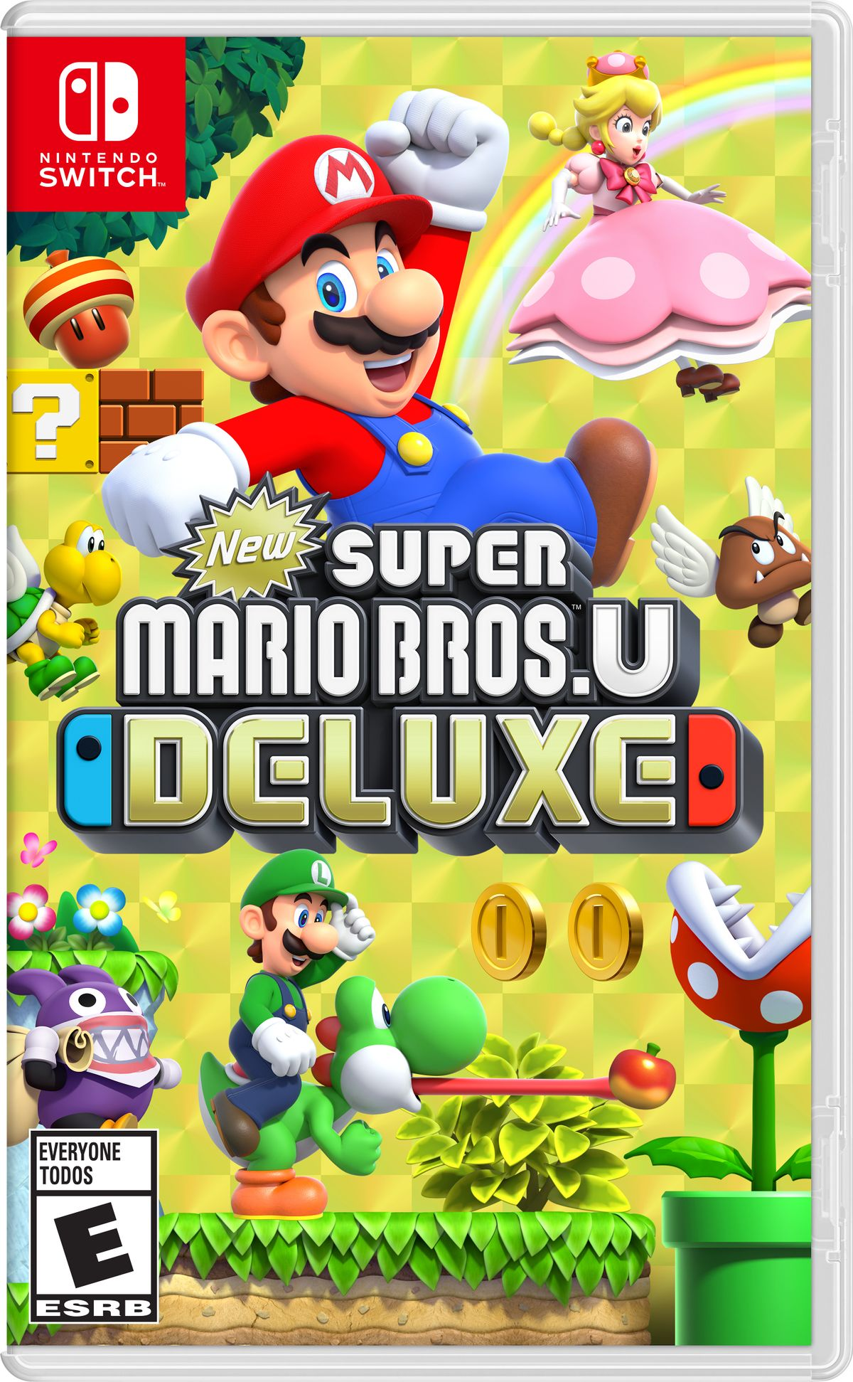 New Super Mario Bros U Deluxe Super Mario Wiki The Mario