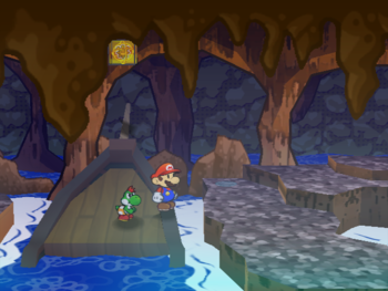 PMTTYD Shine Sprite PiratesGrottoBoat.png