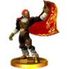 SSB4 Trophy Ganondorf (Ocarina of Time).png