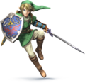 SSB4 - Link Artwork.png