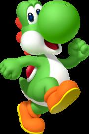 ヨシ Yoshi de マリオ ブロス Mario Burosu (Mario Bros ) e de ヨシ Yoshi