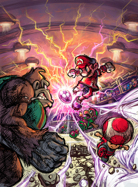 Boxart for Super Mario Strikers.