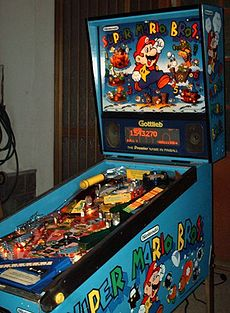 Super Mario Bros Pinball-Full View.JPG