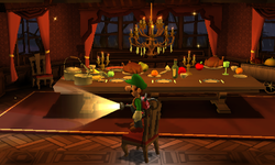 Dining Room Luigi S Mansion Dark Moon Super Mario