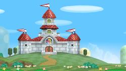 World 1 new super mario bros wii super mario wiki the mario world 1 peachs castle peachs castle nsmbwg gumiabroncs Gallery