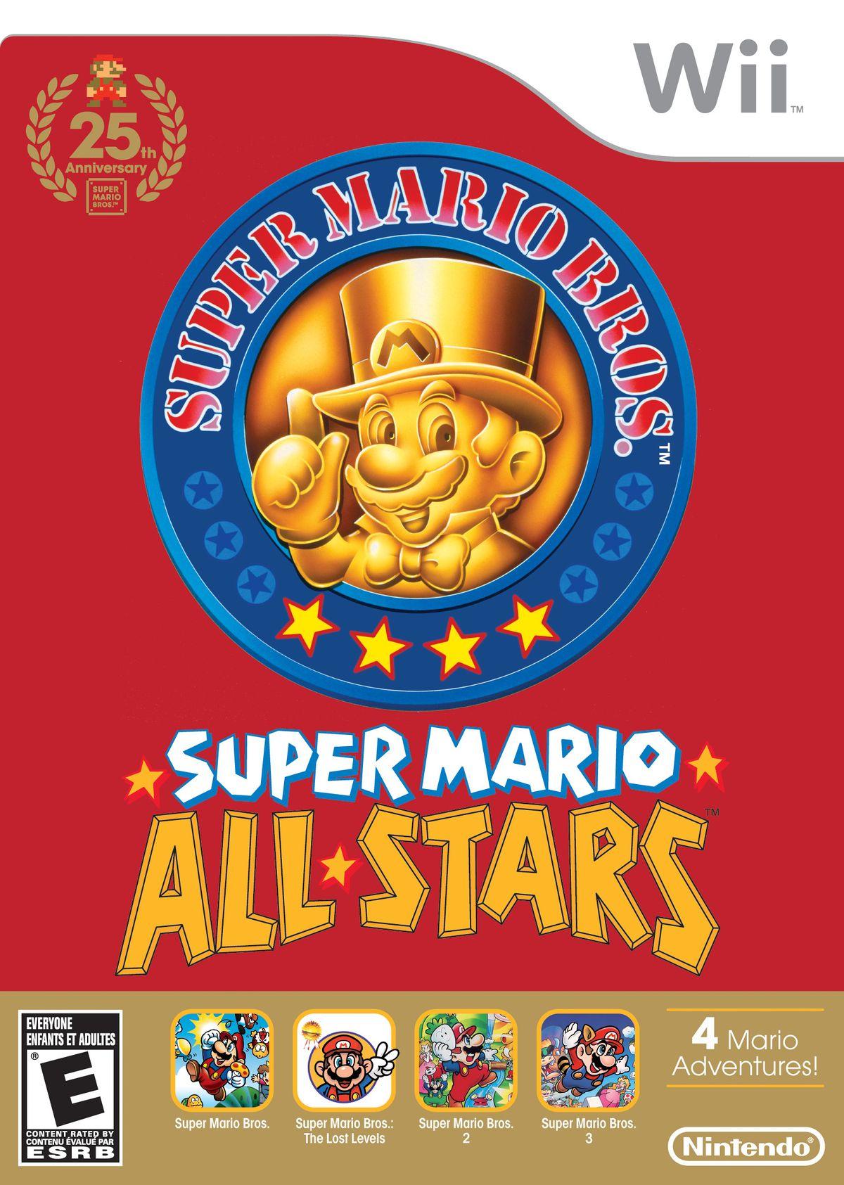 Super Mario All-Stars Limited Edition - Super Mario Wiki, the Mario