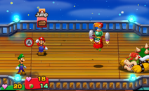 Fawful with the Vacuum Helmet in Mario & Luigi: Superstar Saga and Mario & Luigi: Superstar Saga + Bowser's Minions