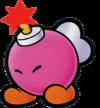 Paper Mario & co 100px-PM_Bombette
