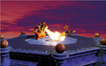 Mario and Bowser Fire Artwork (alt 2) - Super Mario 64.png