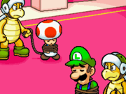 Mario, Luigi, and Toad capture and imprisonment.