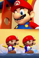 Cutscene - Mario getting help from the Mini Marios.png