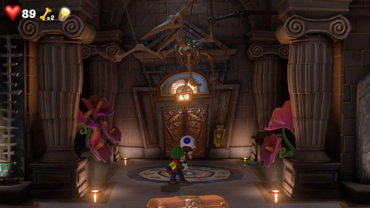 Elevator Hall (Unnatural History Museum) - Super Mario