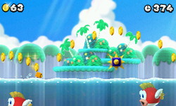 Nsmb2 cheepcheep and spikes.png