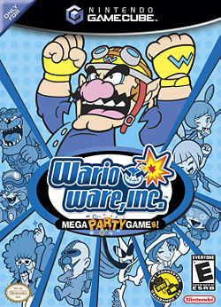WarioWare, Inc.: Mega Party Game$! box art