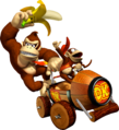 Donkey Kong and Diddy - Mario Kart Double Dash.png