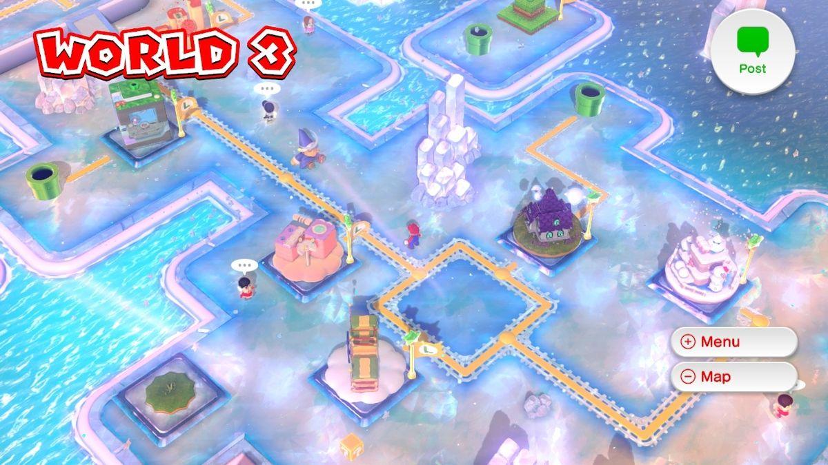 World 3 Super Mario 3d World Super Mario Wiki The