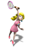 Princess Peach Artwork - Mario Power Tennis.png