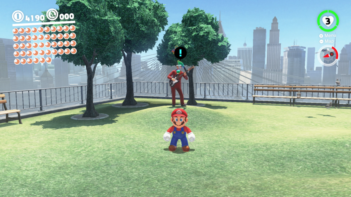 Mayor Pauline Commemorative Park Super Mario Wiki The