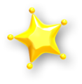 Yellow Small Paint Star.png