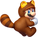 Tanooki Mario Artwork - Super Mario 3D World.png