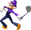 Waluigi Artwork - Mario Golf World Tour.png