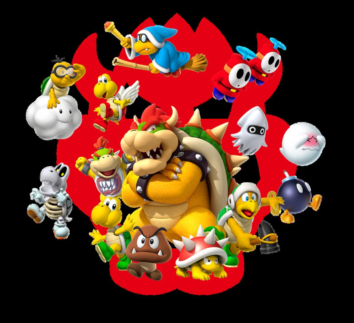 Koopa Troop Super Mario Wiki The Mario Encyclopedia