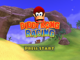 Diddy Kong Racing Adventures title screen.png