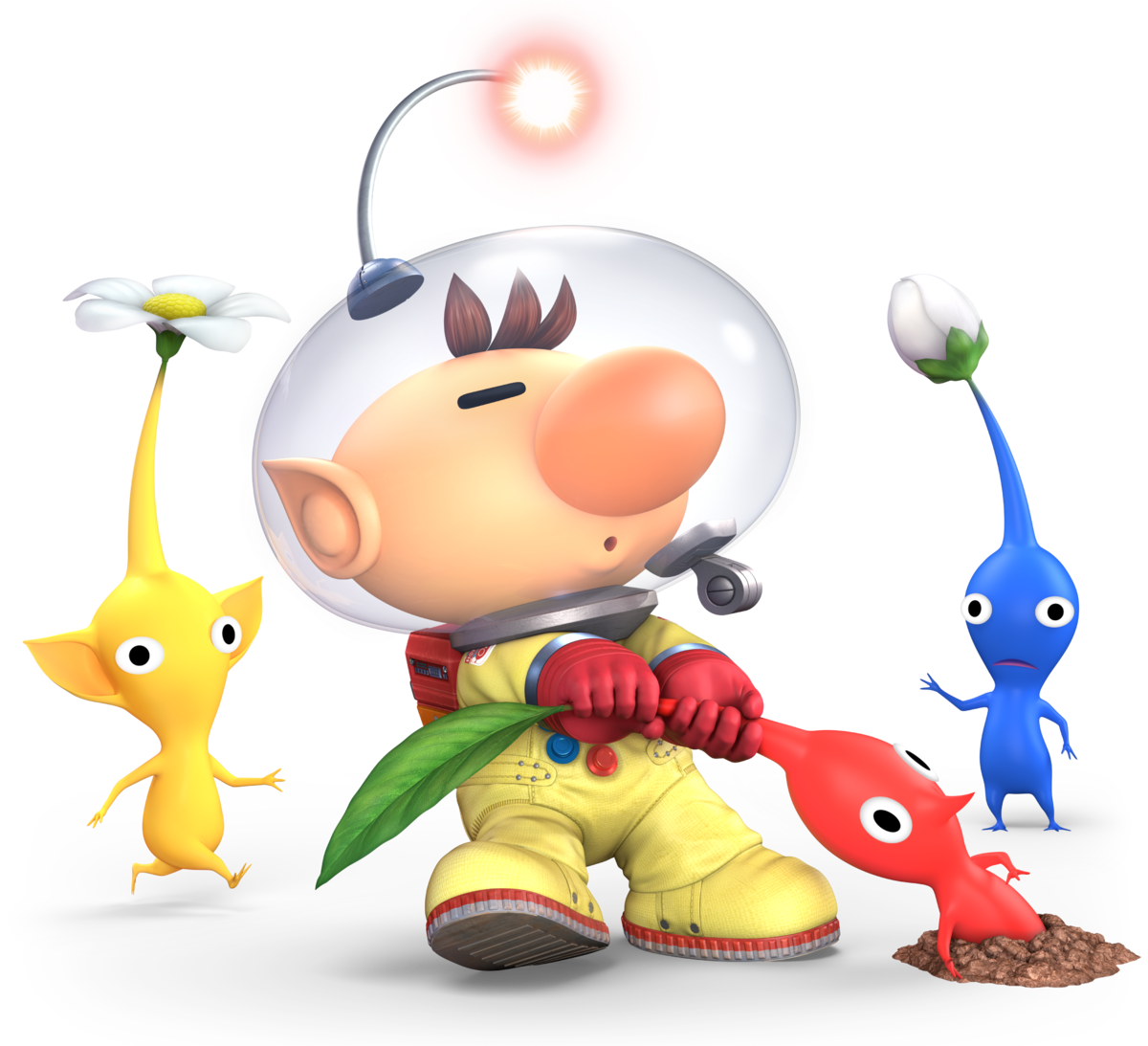 Captain Olimar Super Mario Wiki The Mario Encyclopedia
