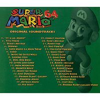 Super Mario 64 Original Soundtrack - Super Mario Wiki, the